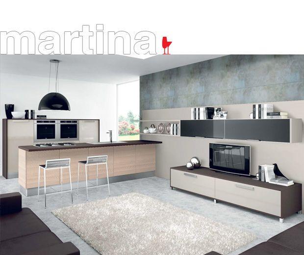 ▷ Современные модели Cucine LUBE Italy - Модель Martina | Кухни ...