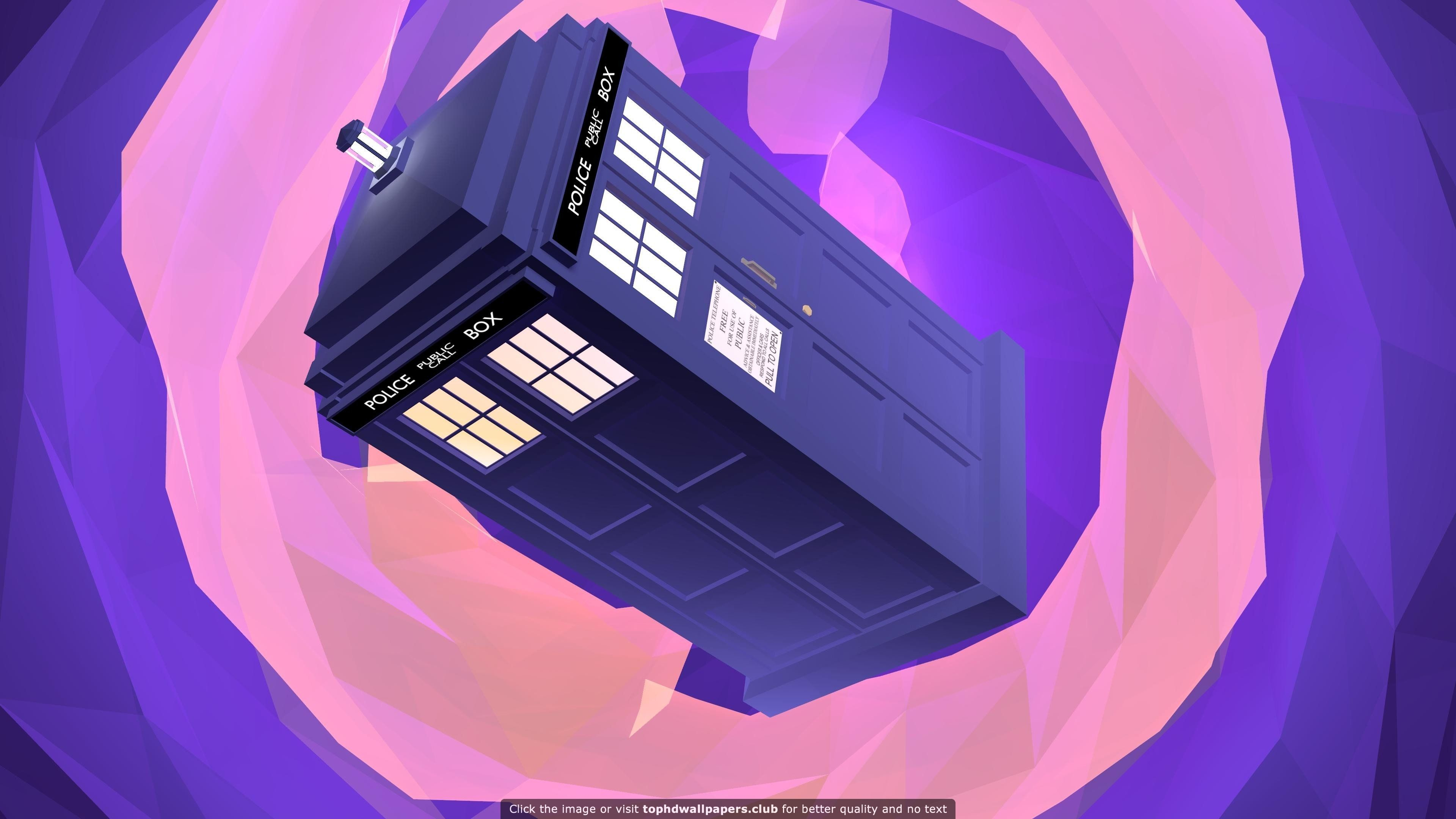 Tardis 4k Or Hd Wallpaper For Your Pc Mac Or Mobile Device