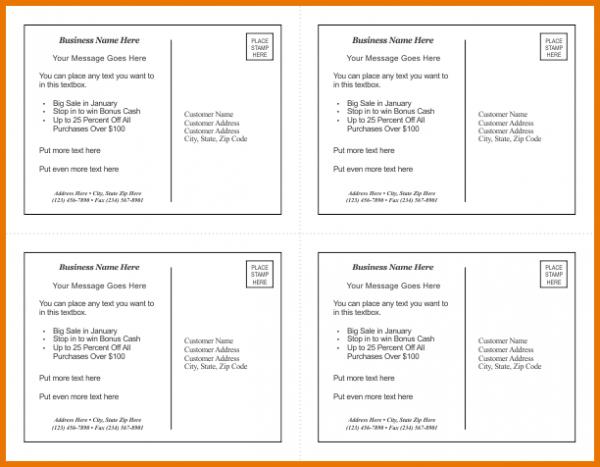 Postcard Template Word Corel Draw Postcard Template 1 4 Up New Png Scope Of Work Template Postcard Template Itinerary Template Templates