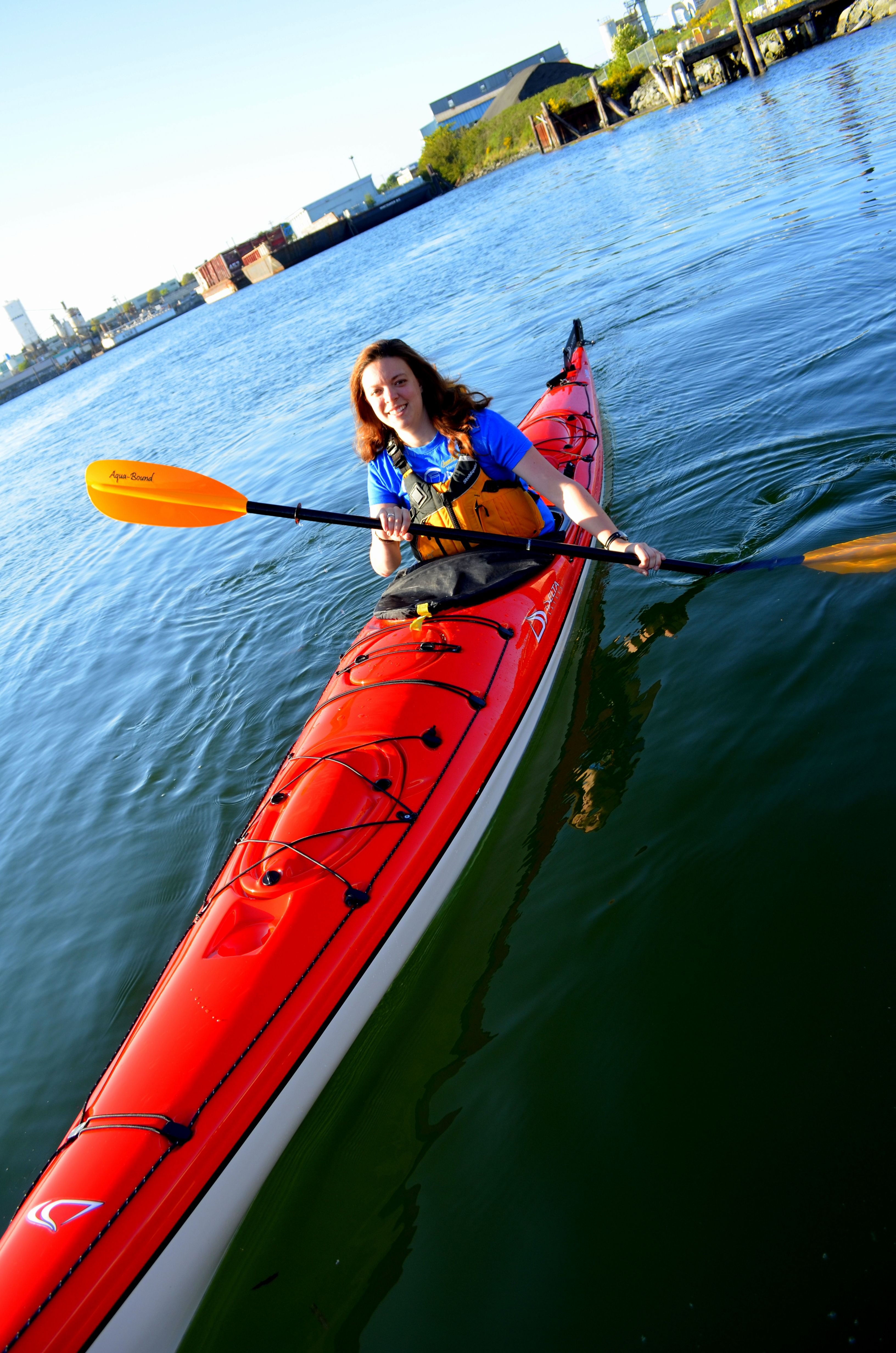 Kayaking the Victoria from Ocean River Sports