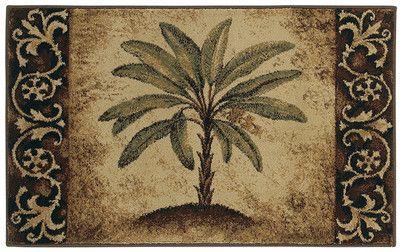 Joking Hazard Palm Tree Rugs Tropical Outdoor Rugs Bath Rugs Sets