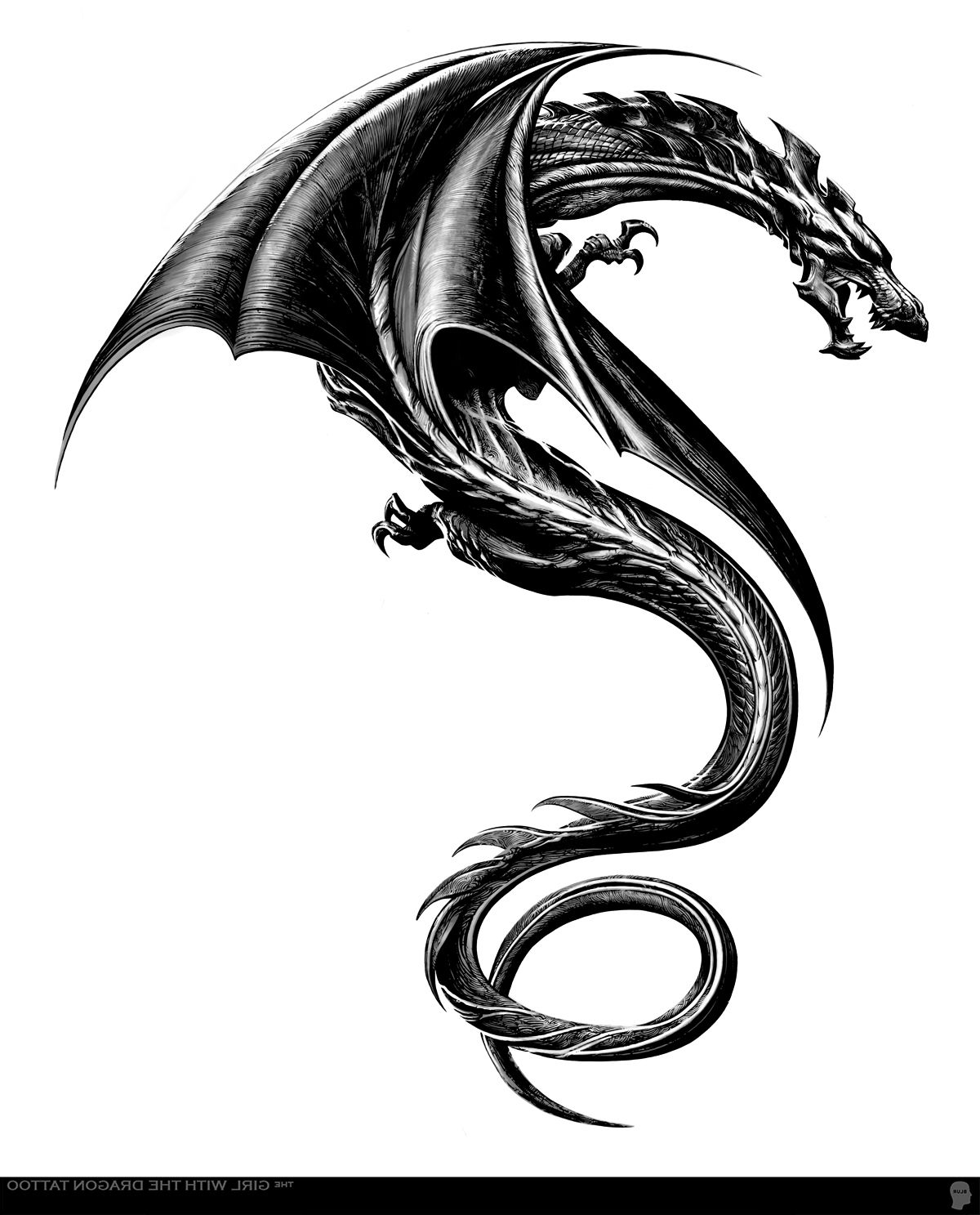 The girl with the dragon tattoo Dragon tattoo designs