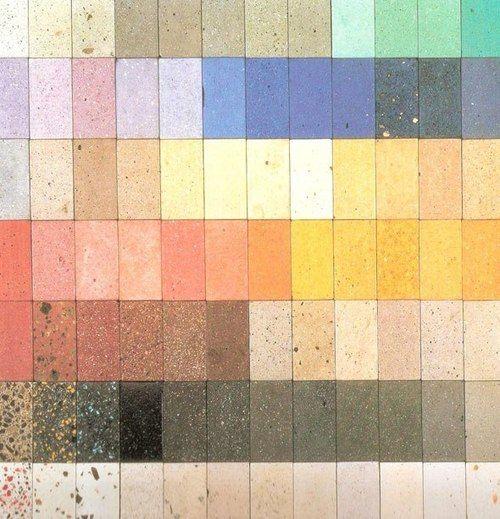 Colour Concrete Chart