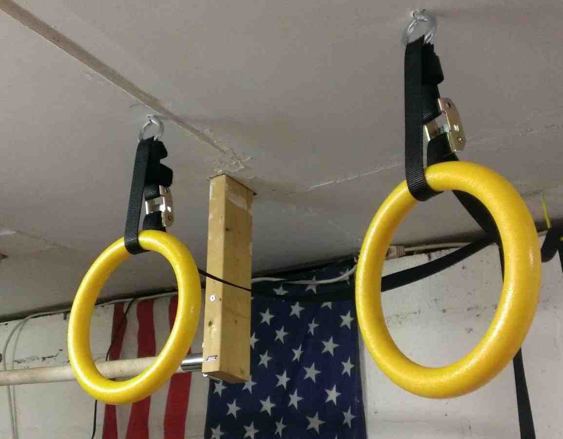 Hanging gymnastic rings better