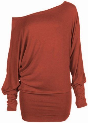 Women's Plus Size Batwing Top For Winter Fashion