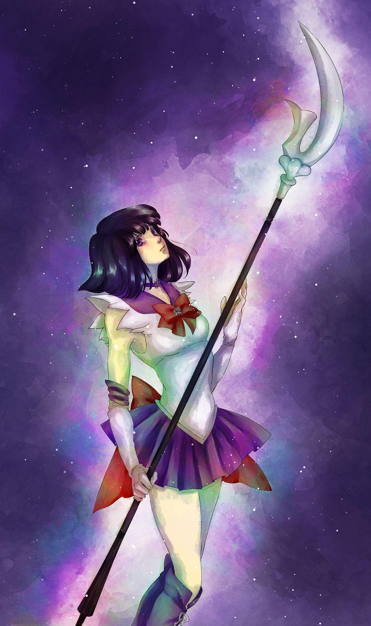 Sailor Saturn | Сэйлор мун, Сейлор мун и Аниме