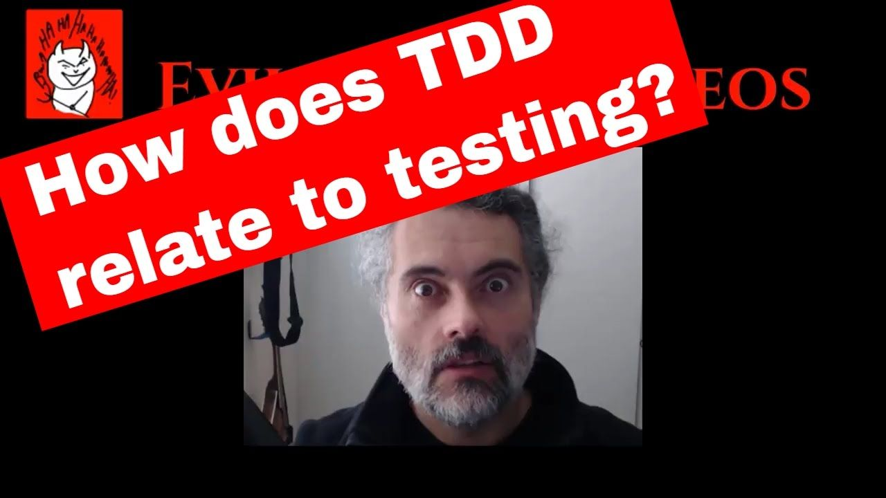 Is Test Driven Development (TDD) actually Testing? Let's Code an example using Java JUnit tutorial https://youtu.be/Jx3Vi330o4M