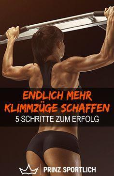 Klimmzüge trainieren: Endlich (mehr) Pull Ups schaffen - #Endlich #fitness #Klimmzüge #mehr #Pull #s...