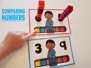 Kindergarten Math Centers | Mrs. McGinnis' Little Zizzers