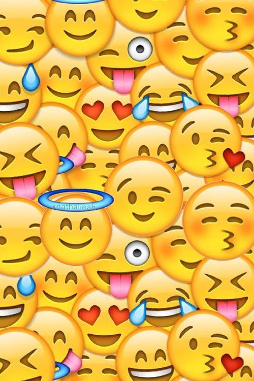 Imagen de wallpaper, emoji, and iphone … | Backgrounds | Emoji…