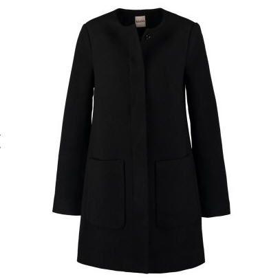 super populaire 36562 bf918 KIOMI Manteau classique noir | Mode Femme | Manteau femme ...