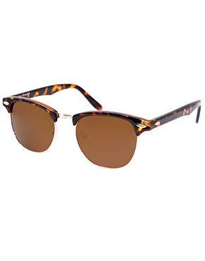 Classic Retro Sunglasses - Brown Asos gb9XP