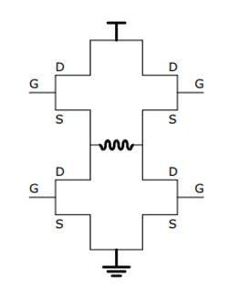 H-Bridge Motor Driver Circuit