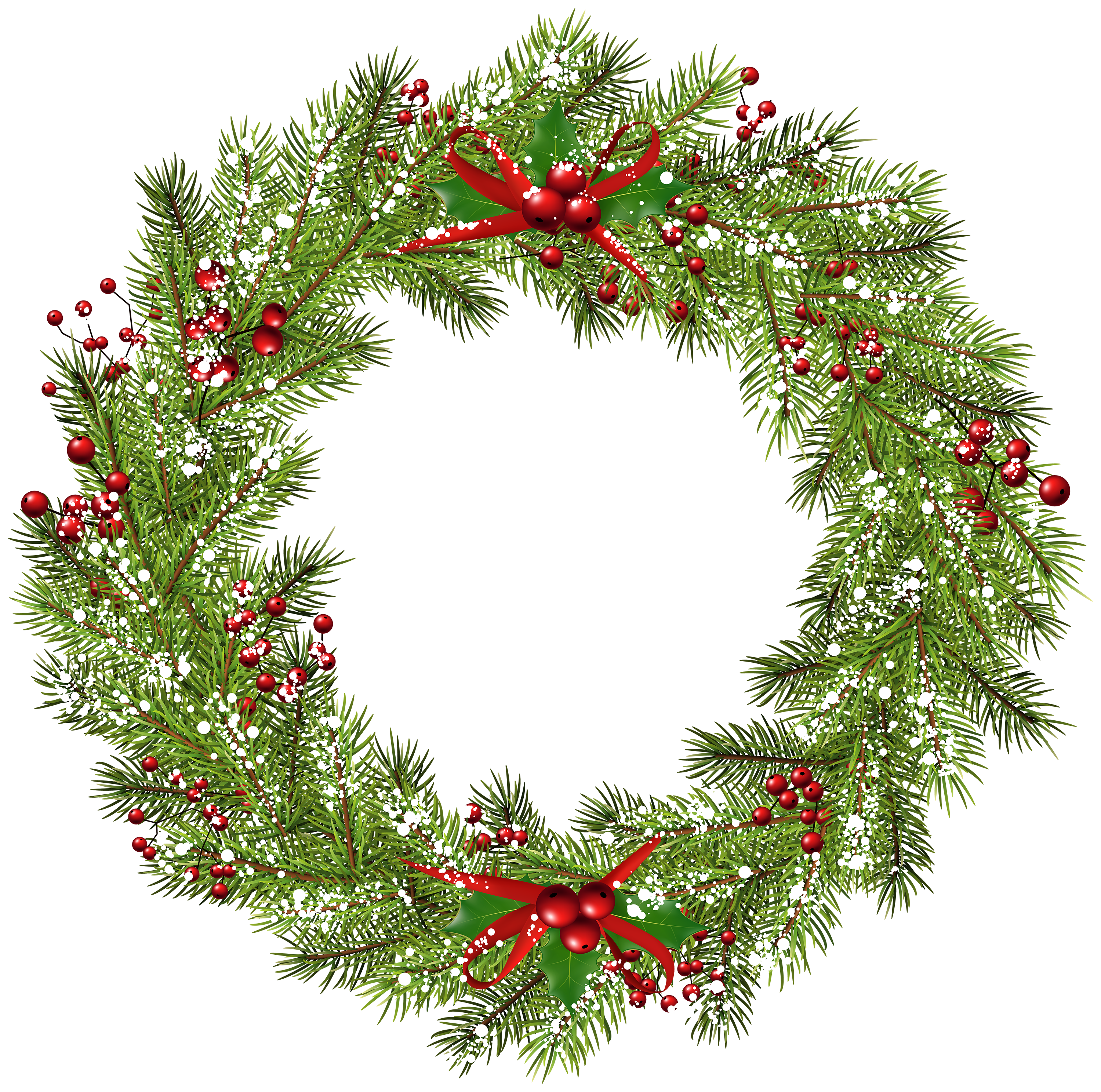 Christmas Wreath Png Clip Art Image Gallery Yopriceville High Quality Images And Transparent Png Free Clipart Art Images Clip Art Free Clip Art