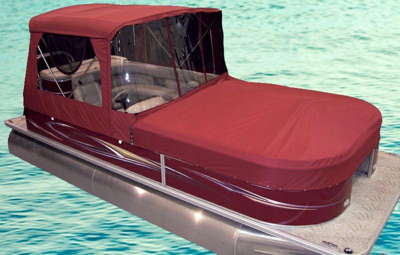 Half Camper Top For Pontoon Boats