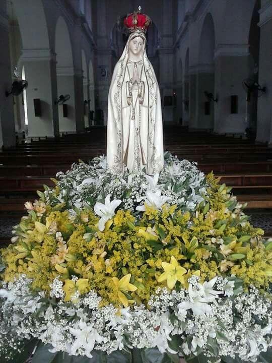 Andor Nossa Senhora De Fatima Limoeiro Pe Arranjos De Flores