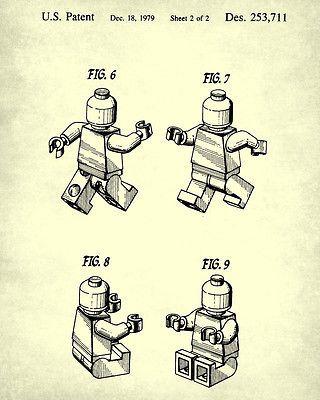 Lego patent prints building blocks blueprint wall art lego posters lego patent prints building blocks blueprint wall art lego posters home decor malvernweather Image collections