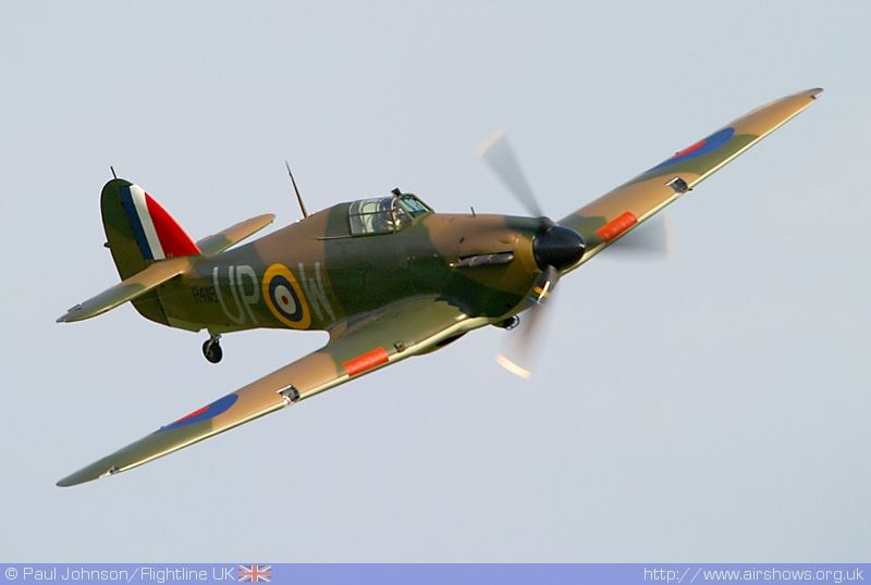 Hurricane Hawker Hurricane Fighter Jets Aircraft