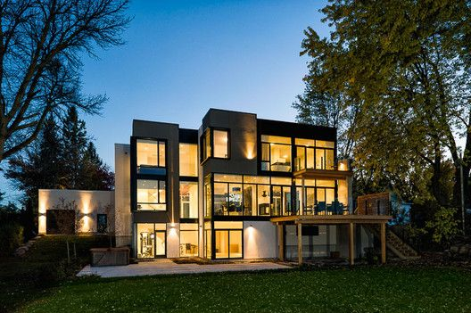 Ottawa River House,© Double Space Photography