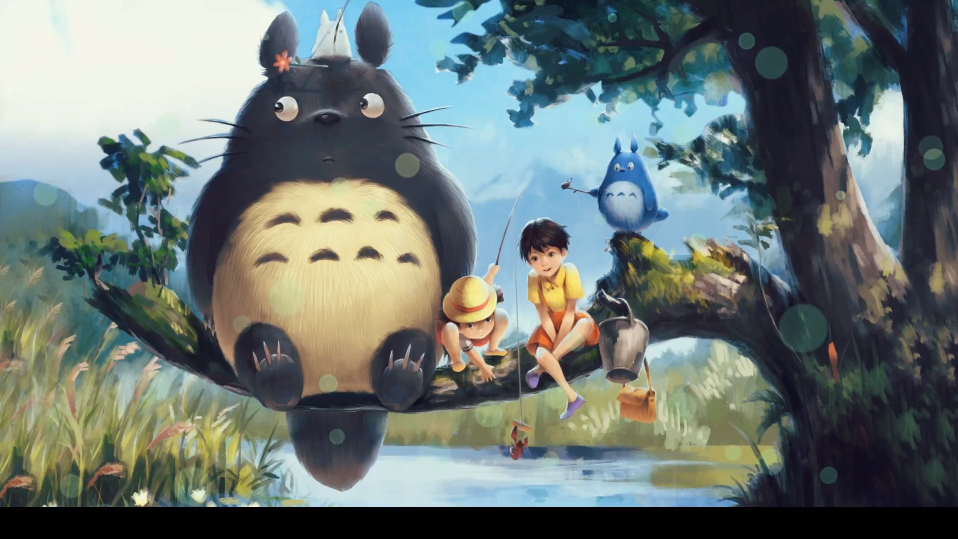 Totoro Anime Wallpaper
