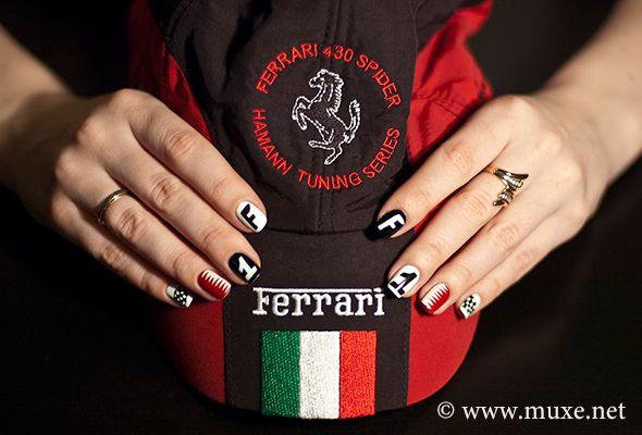 Formula 1 Nails Design Nails Pinterest Nails Nail Art And