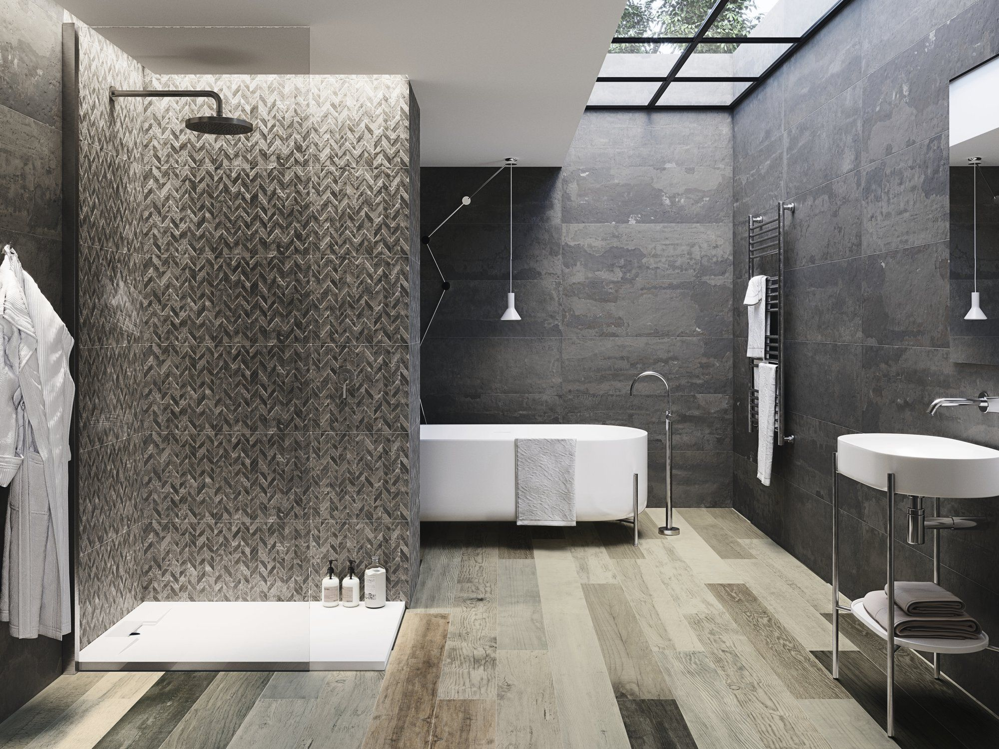 Badkamer Tegel Betonlook : Promotie wandtegel betonlook evo amazing tegels badkamer tegel