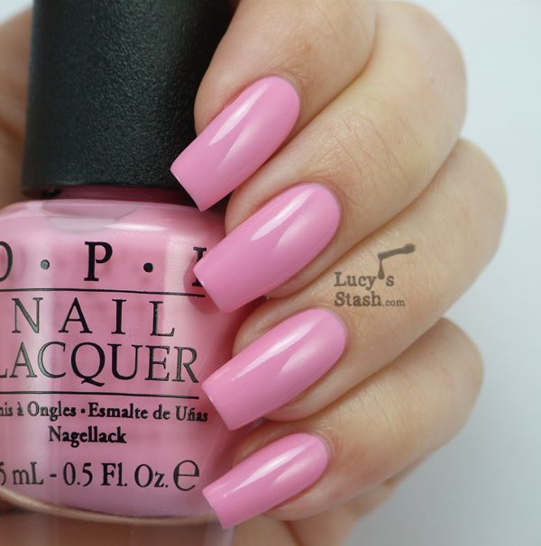 Lucy's Stash: OPI Couture de Minnie Collection - Review and swatches  perfect pink!