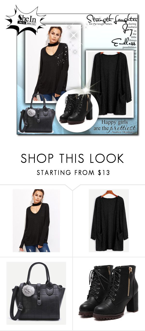 """""""Strenght"""" by malasirena989 ❤ liked on Polyvore featuring Winter, Christmas, Sheinside and coat"""