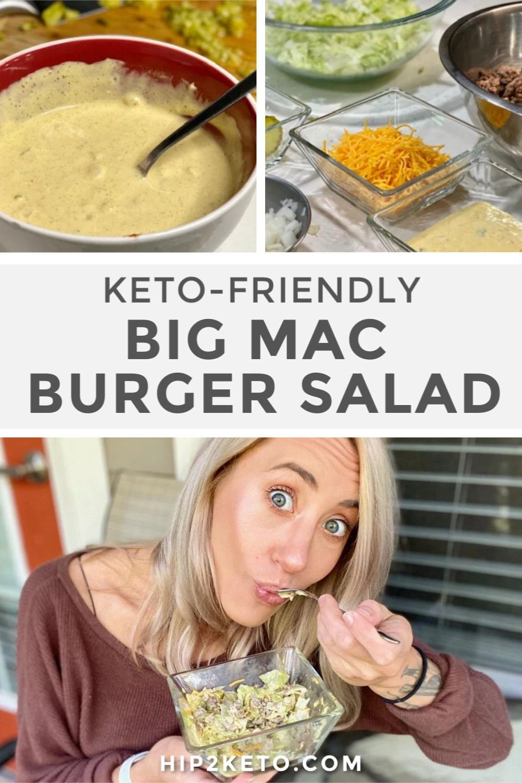 The Keto Big Mac Salad That'll Satisfy Your Fast Food Craving