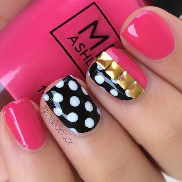 80 Nail Designs for Short Nails StayGlam Nails Pinterest - modelos de uas