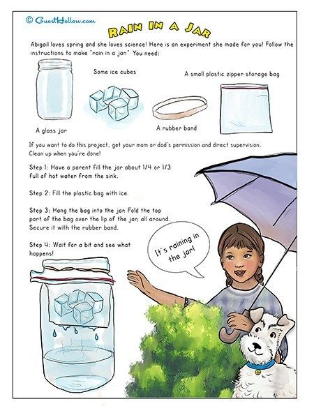 Solids, Liquids, and Gases – Printable Activity | Guest Hollow's Store