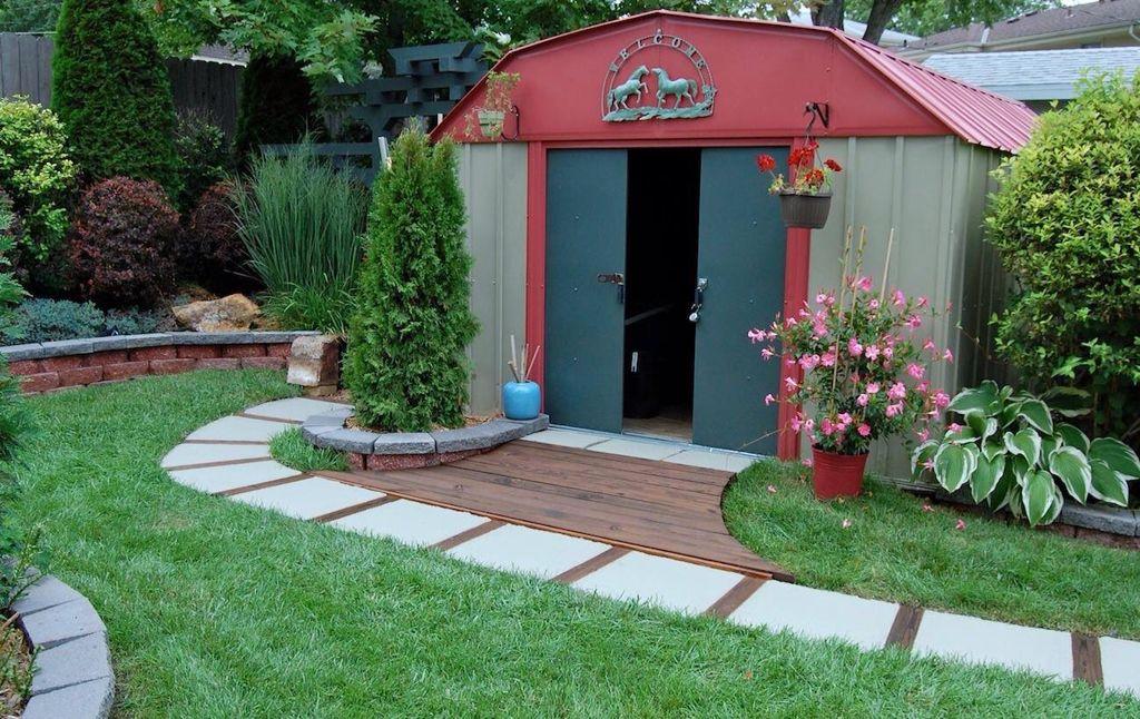 Backyard shed idea