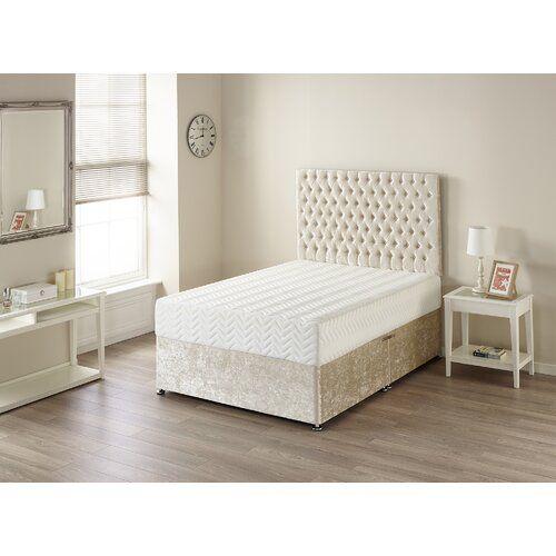 Best 7 Zone Memory Foam Mattress Wayfair Sleep Size Kingsize 640 x 480