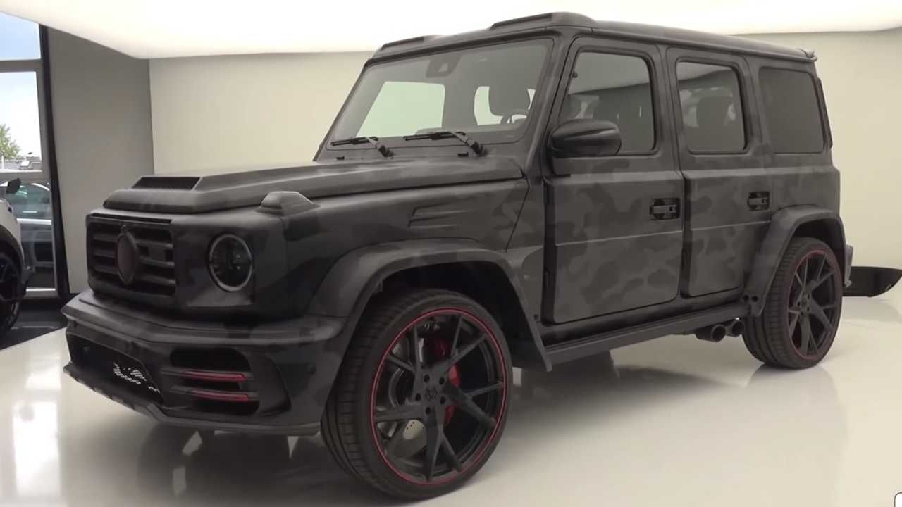 Ludicrous Mercedes Amg G63 By Mansory Detailed On Video With