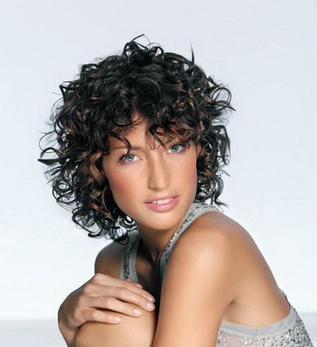 Coupe Cheveux Frisés Long: Curly Hair Styles, Short