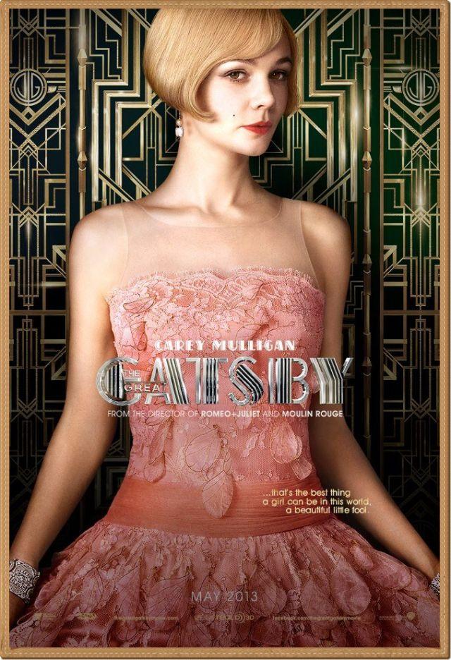 El gran Gatsby: glamour años 20.
