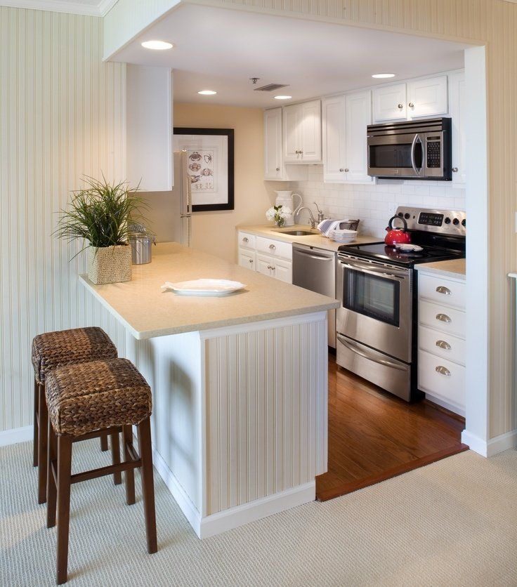 Small apartment kitchen remodel. Even though it\'s a tiny kitchen ...