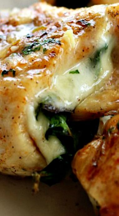 Spinach Amp Provolone Chicken Pinwheels Recipe Chicken Pinwheels Chicken Spinach Recipes