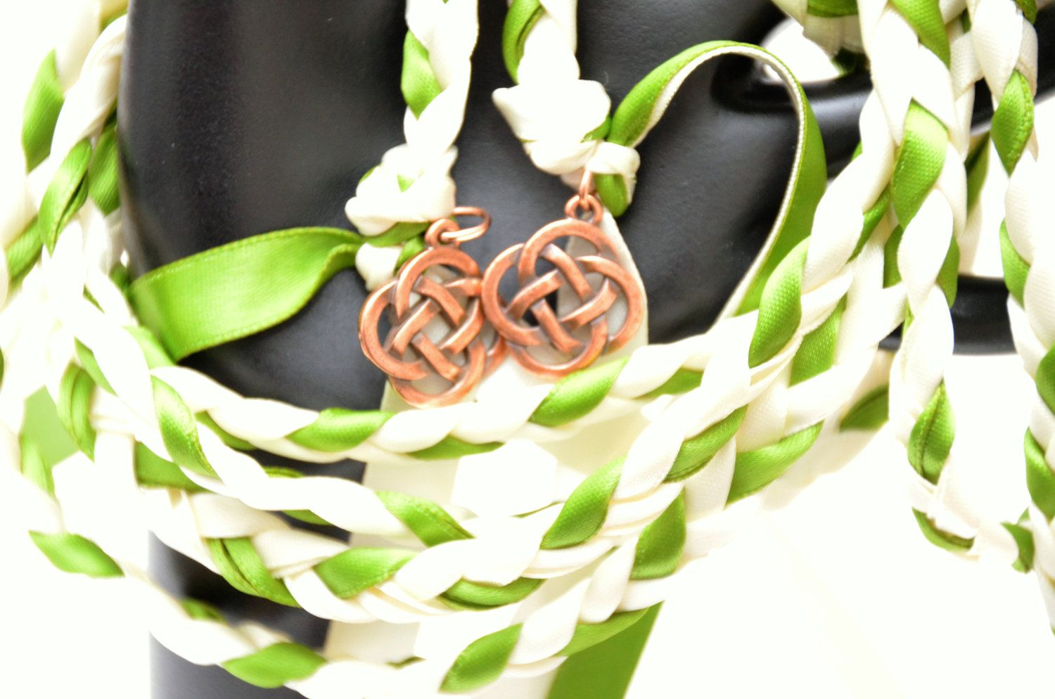 Celtic Knot Wedding Handfasting Cord V2 Ceremony Clover 6ft Irish Tying The By Divinitybraid On Etsy