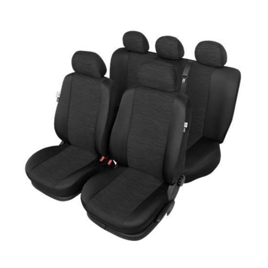 Washable Black Car Seat Covers For Jeep Grand Cherokee Mk Ii