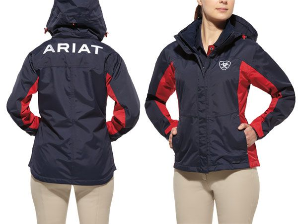 8c8ed02880c Ariat Waterproof Team Jacket | {Horses: Everything I need in life ...