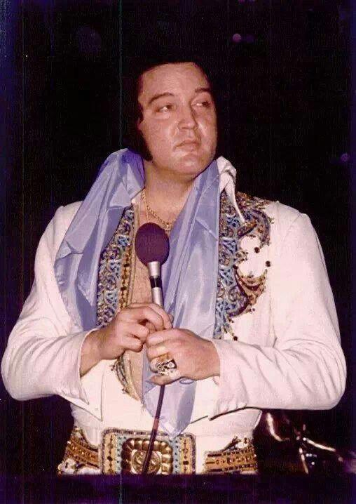 elvis presley 1977