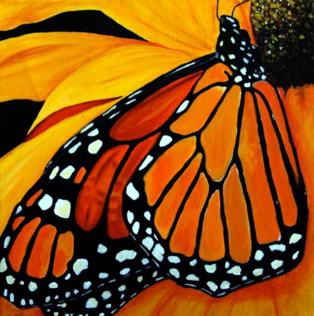 monarch butterfly painting - Google Search | Designs ...