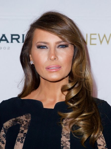 صور أروع مجوهرات ميلانيا ترامب سيدة أمريكا الأولى مجلة هي Hair Traditional