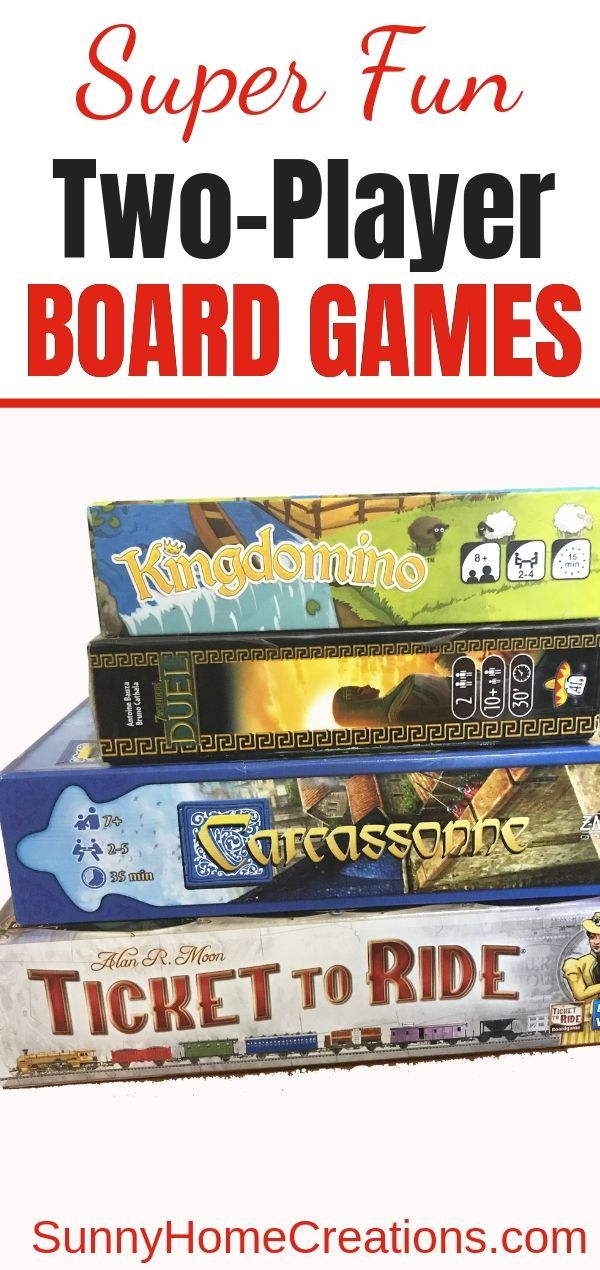 13+ Best Two Person Board Games Fun board games, Games