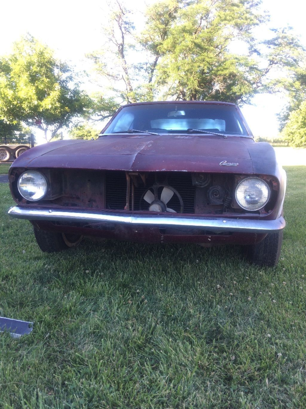 Almost complete 1967 Chevrolet Camaro Rally Sport project | Project ...