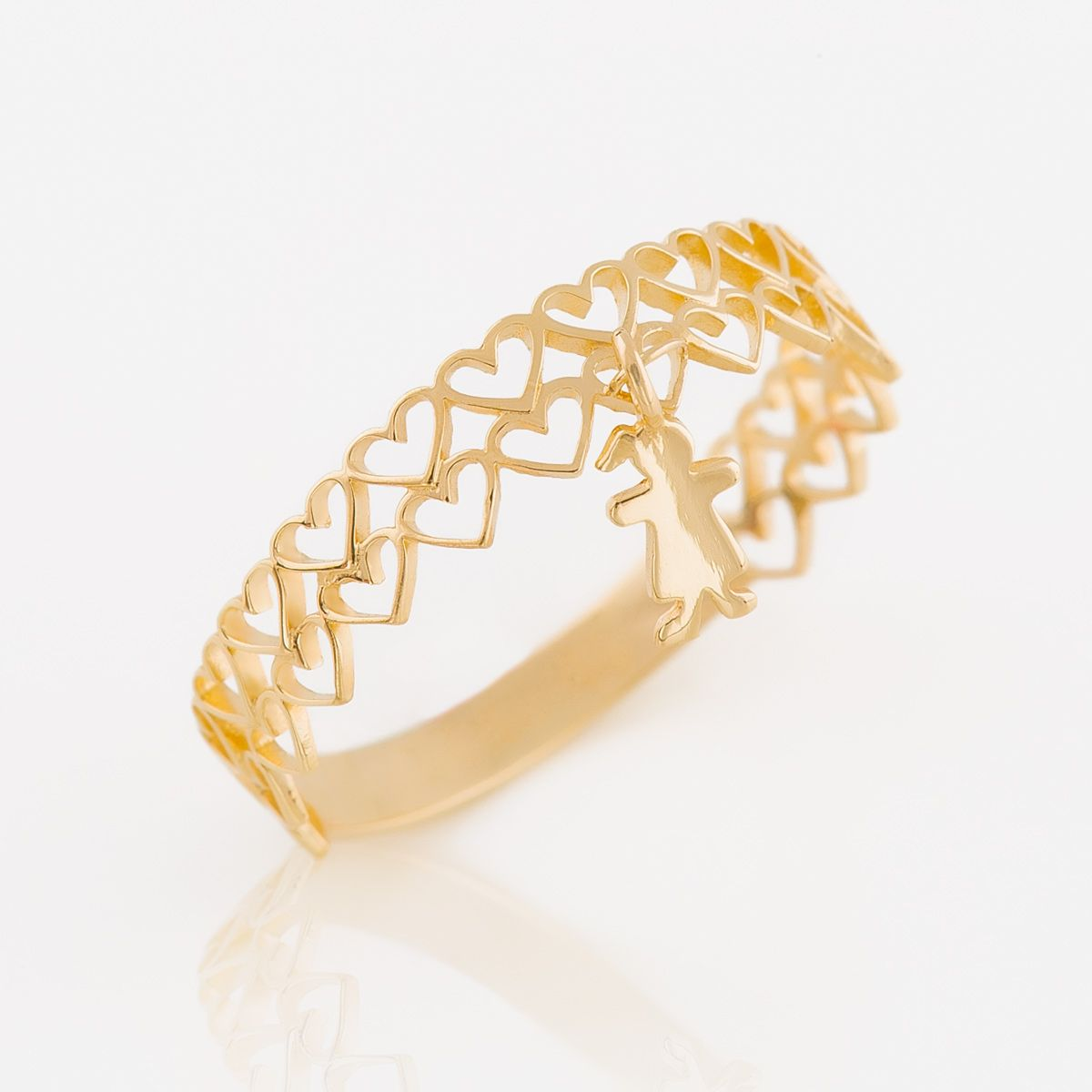 Itus a girl ring in k gold k gold delicate and ring