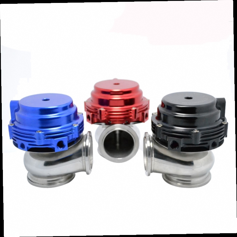 48.76$  Buy now - http://aliio0.worldwells.pw/go.php?t=811571116 - 44mm tial Wastegate external turbo red/blue/black With Flange and Hardware MV-R Water Cooled Waste Gate 48.76$
