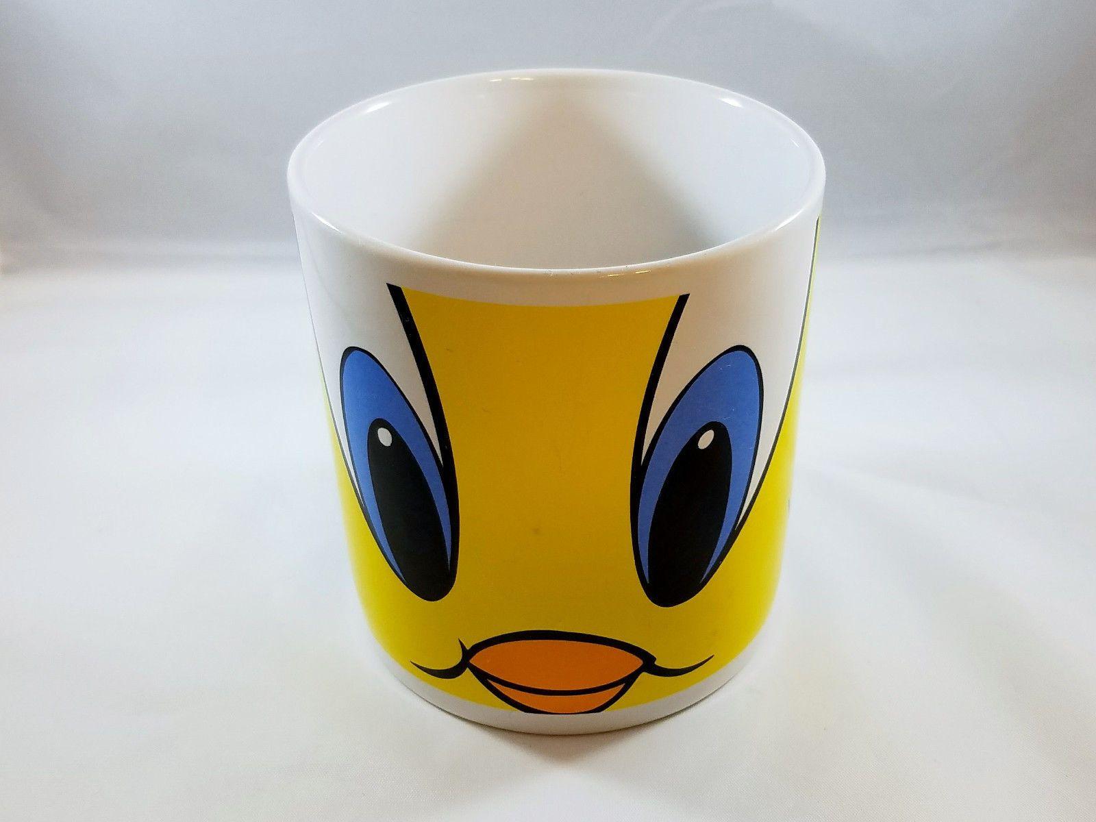 Oversized Tweety Bird Coffee Mug Looney Tunes Warner Bros