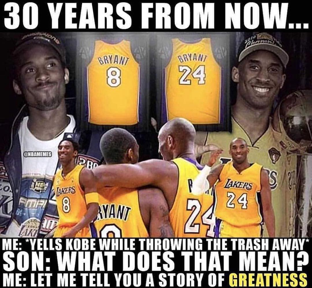 La Lakers Greatsportsmemes Kobe Bryant Memes Kobe Bryant Quotes Funny Basketball Memes